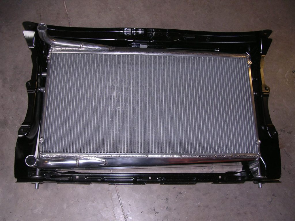 SKODA RADIATOR IN ORIGINAL MOUNT