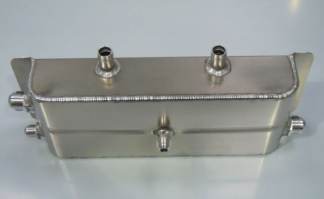 SPLITSCREEN BREATHER BOX WITH JIC FITTINGS
