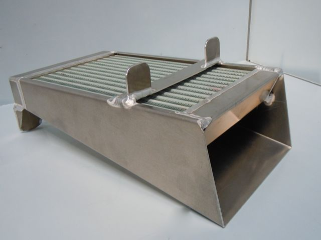 VW SPLITSCREEN OIL COOLER COMPLETE WITH AIR SCOOP
