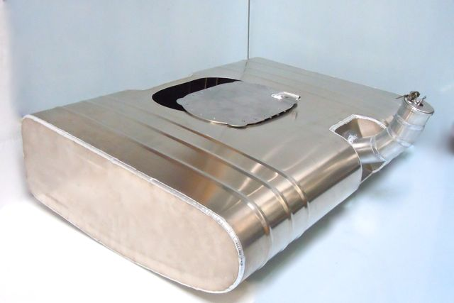Aluminium bag tank cover