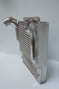 Alfa 33 Intercooler - Stepped core due to packaging requirements