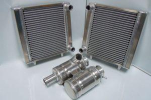 Elva radiators and header tank