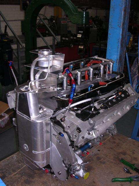 Arrows F1 Oil Tank - Taking shape