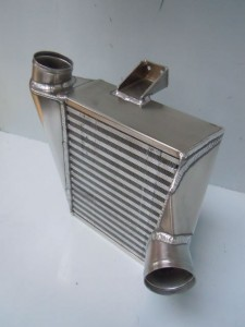 Drag Bike Intercooler