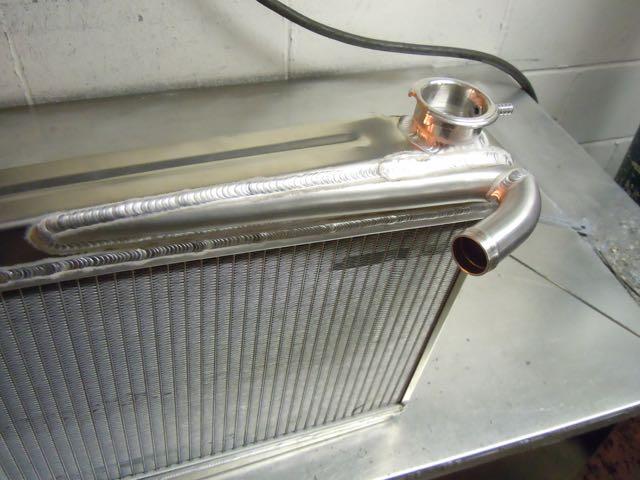Austin A40 Aluminium Radiator