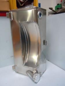 Replica aluminium Fuel tank